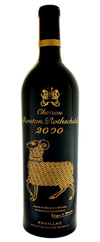 Lot 82 Of 253 3 2000 Chateau Mouton Rothschild Pauillac