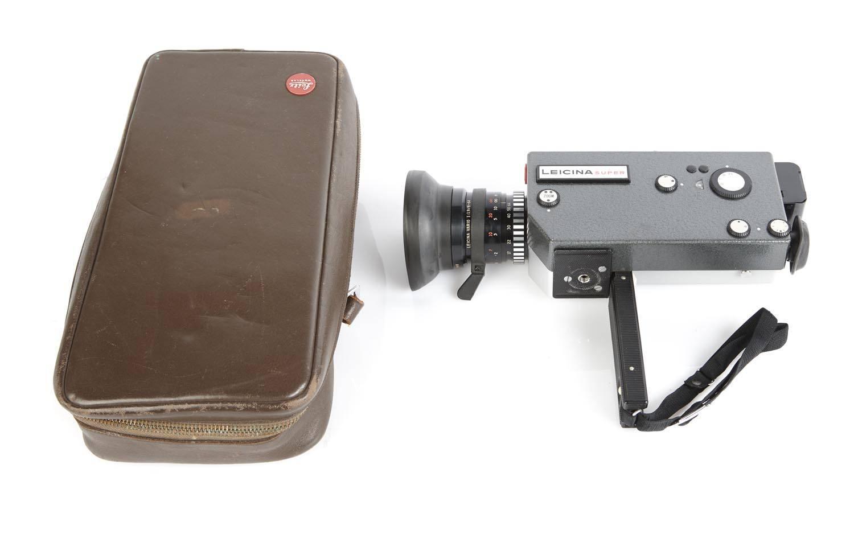 LEITZ (Germany): A Super 8 Movie Camera - Price Estimate