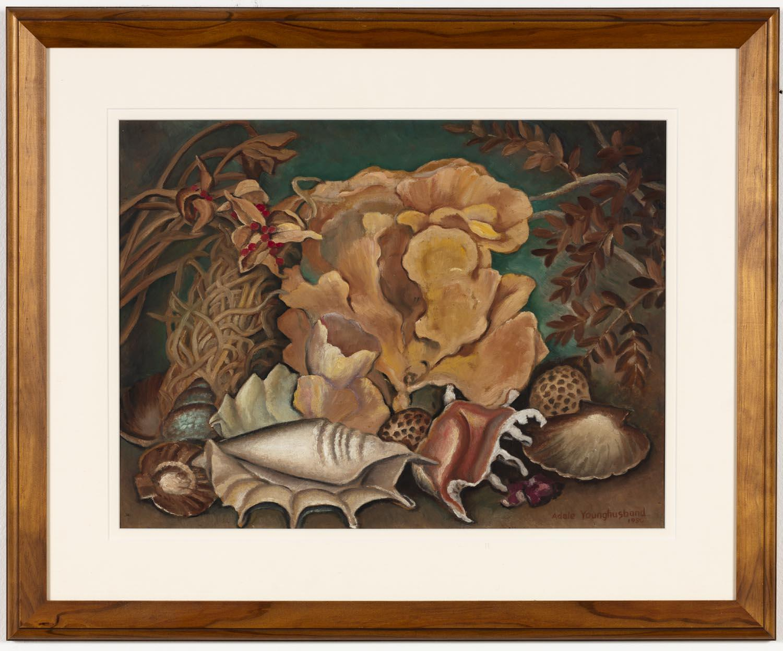 Adele Younghusband Still Life With Seashells Price Estimate 1500 2500