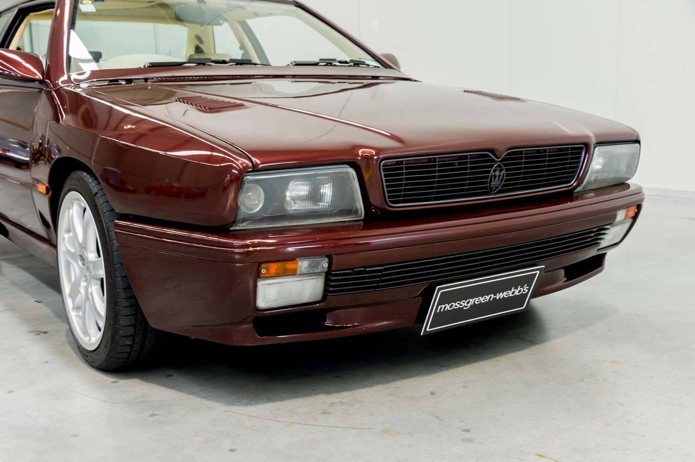 1996 MASERATI GHIBLI GT - Price Estimate: $70000 - $80000
