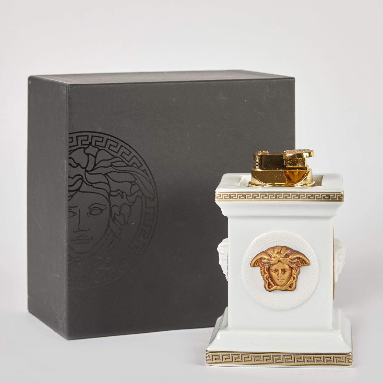 Versace by Rosenthal Gorgona Table Lighter - Price Estimate