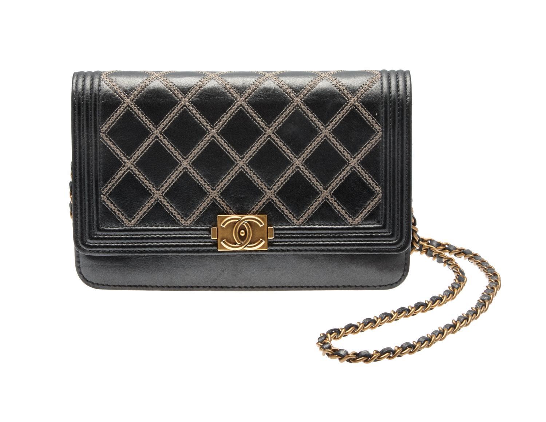 f3213e974ca6 Chanel Boy Wallet on Chain - Price Estimate: $1000 - $1500