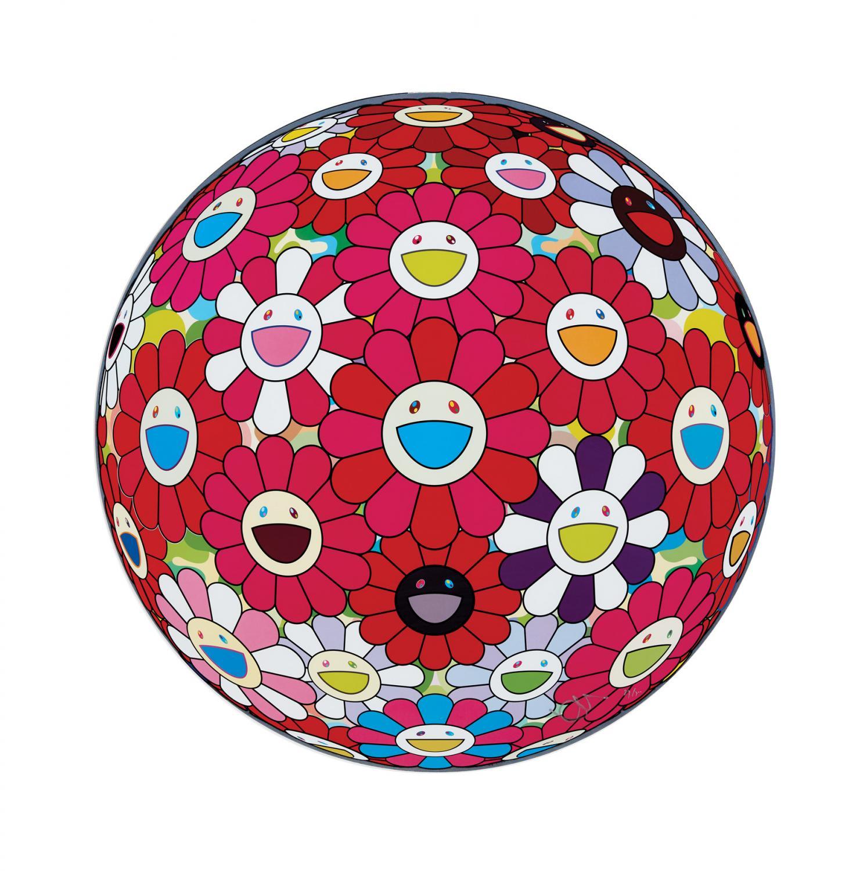 Lot 44 of 47: TAKASHI MURAKAMI Flower Ball