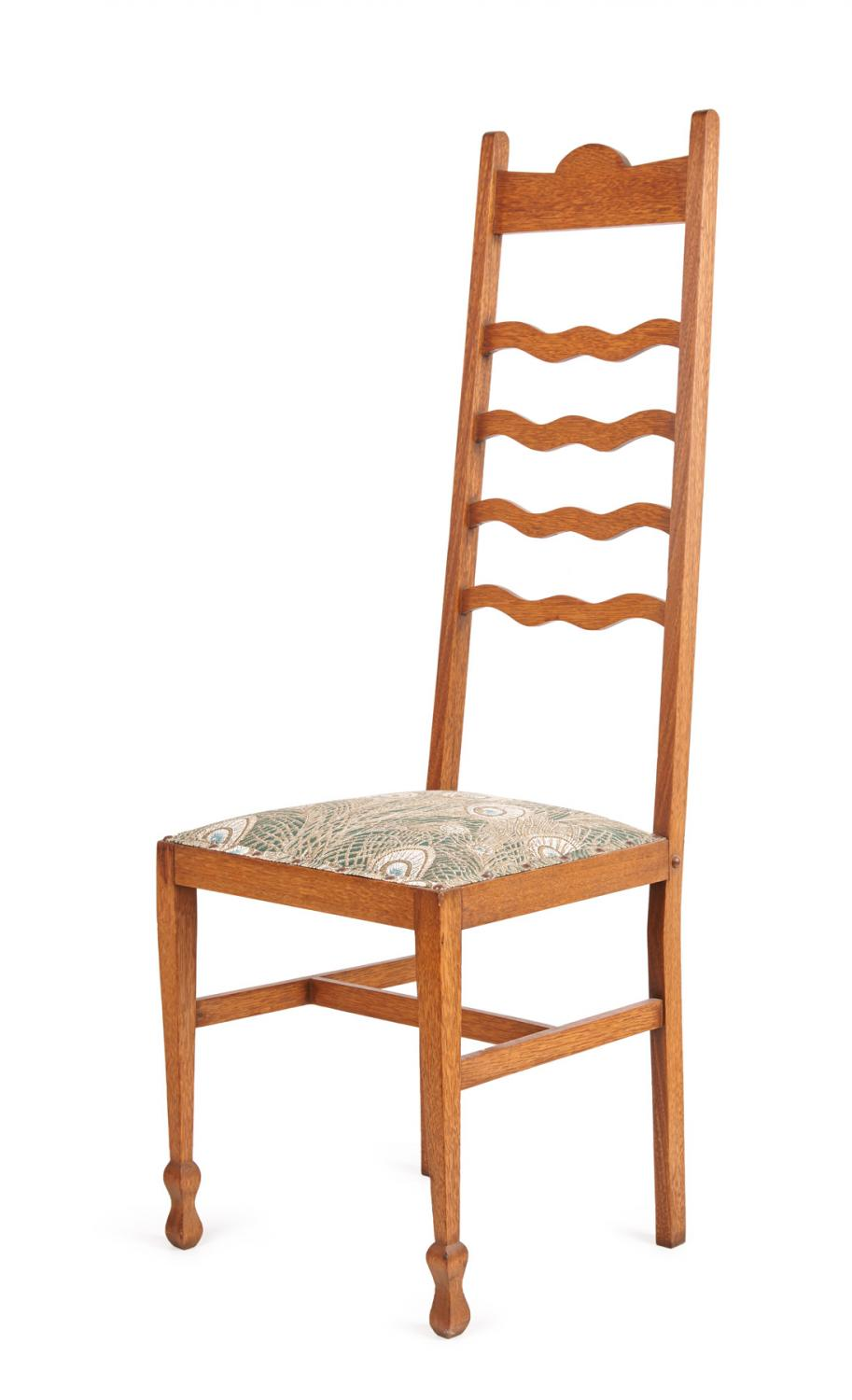 Mackintosh Style Ladder Back Chair Price Estimate 250
