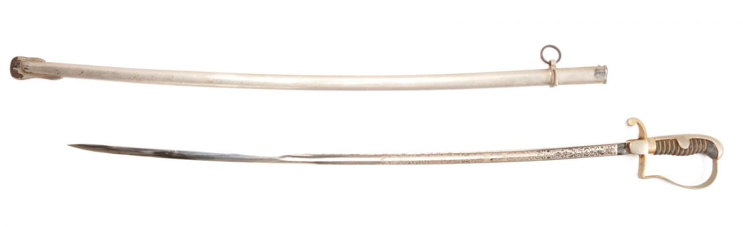 A Columbian Army Officer's Ceremonial Sword - Price Estimate