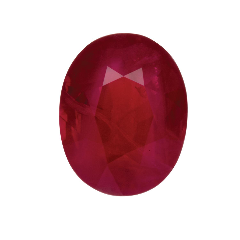 A Loose 4 17ct Burmese Ruby - Price Estimate: $34000 - $40000