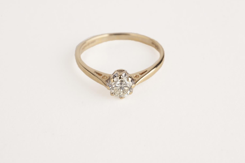 18ct Gold 0.50ct Diamond Solitaire Ring - Price Estimate   750 -  900 110c5051e