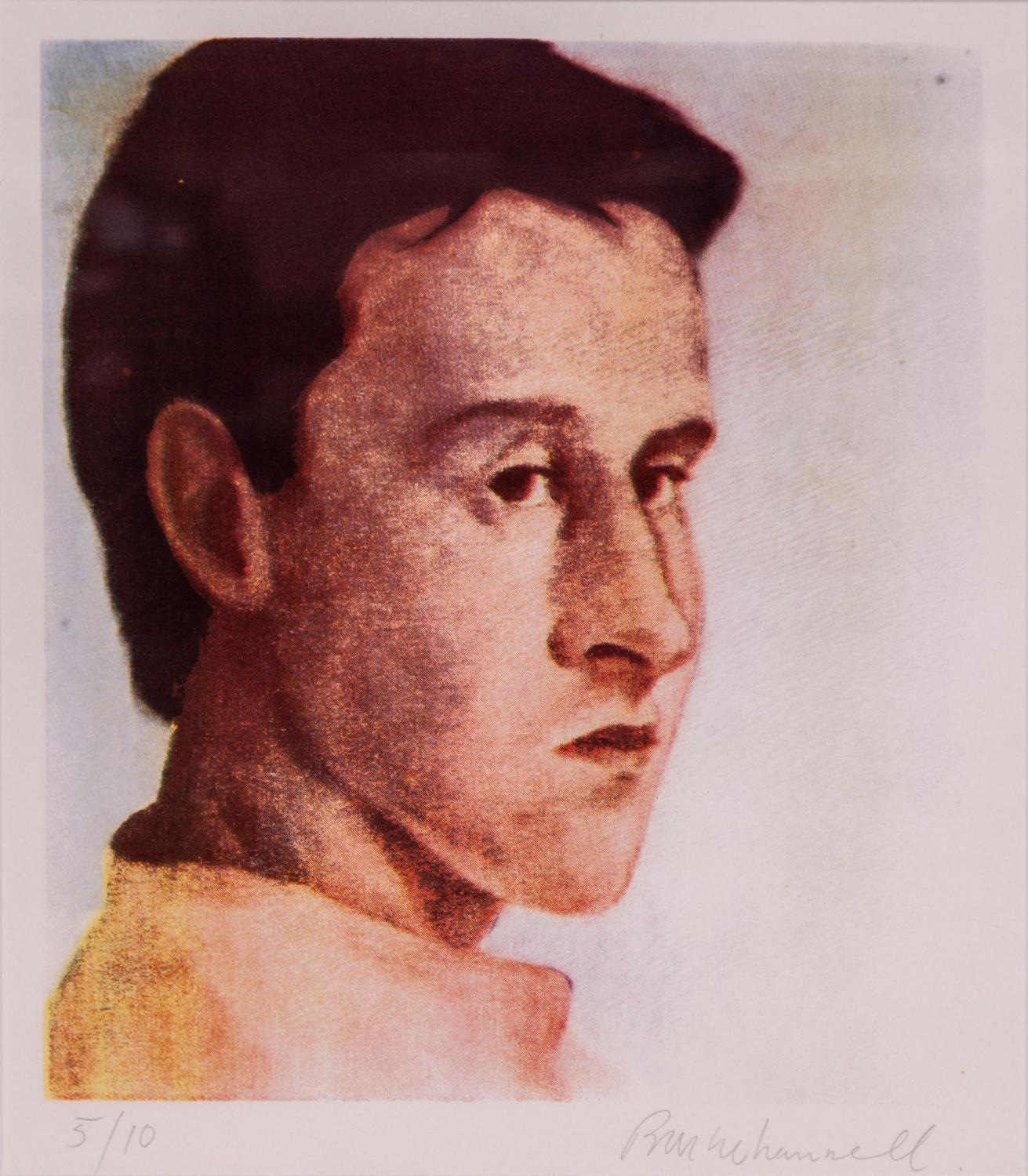 6c59fe7bc6a41 Richard McWhannell - Self-Portrait - Price Estimate: $300 - $500