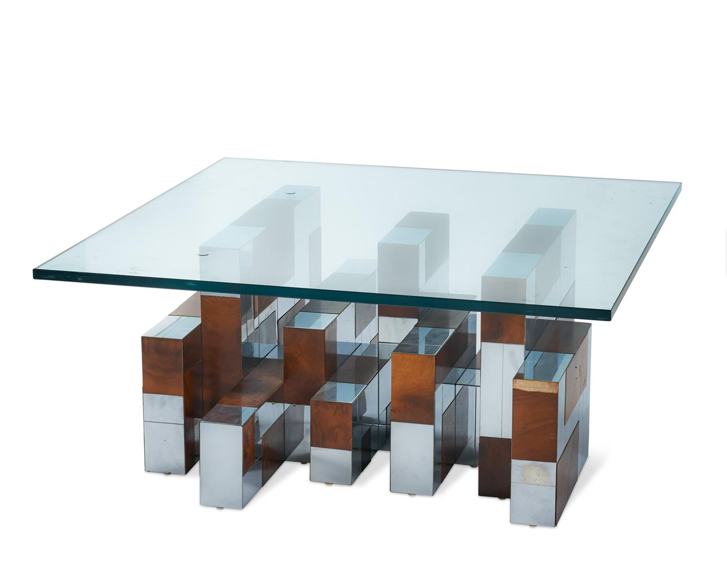 A Paul Evans Cityscape Coffee Table - Price Estimate: $4 - $4