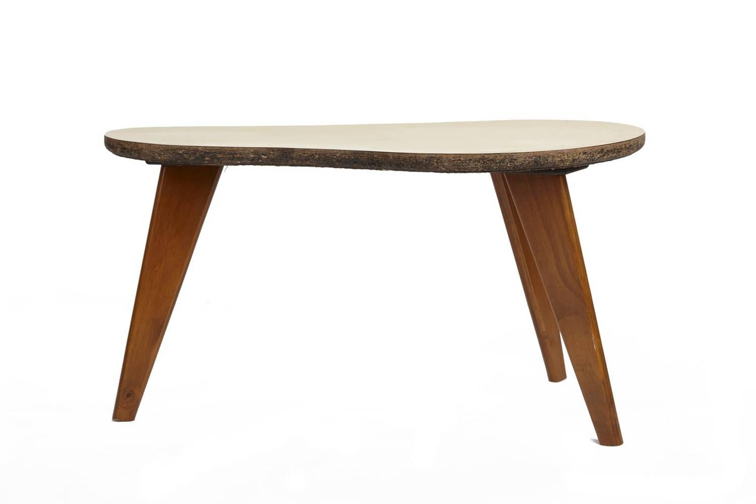A Retro Kidney Shaped Side Table Price Estimate 60 80